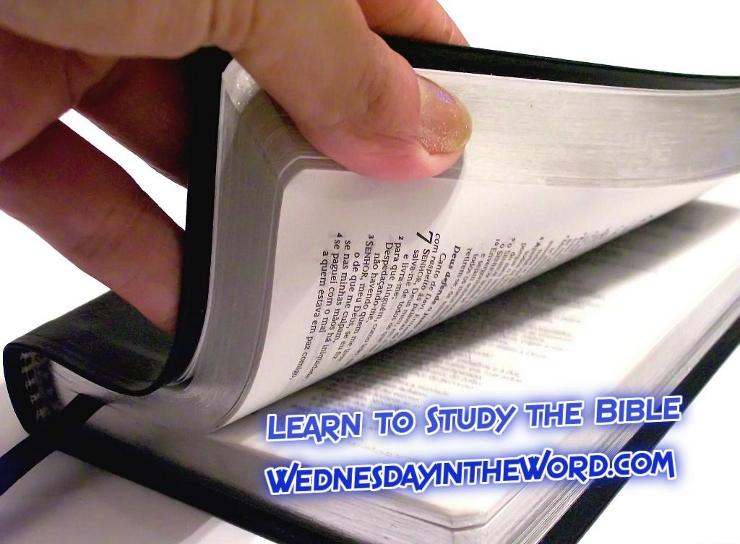 Learn Bible Study |WednesdayintheWord.com