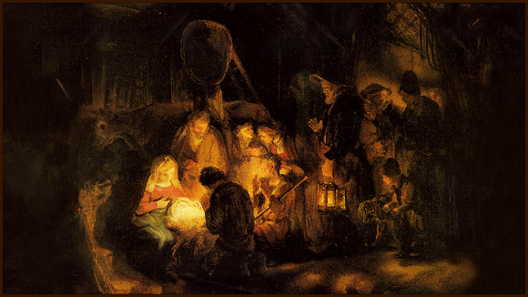 Rembrandt: The Adoration of the Shepherds