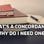 Bible Study Tools 3: Concordances