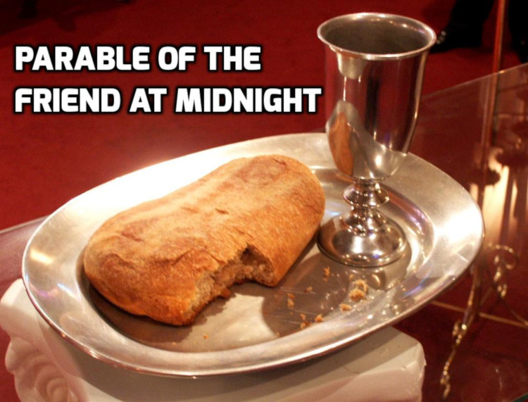 Parable of the Friend at Midnight | WednesdayintheWord.com