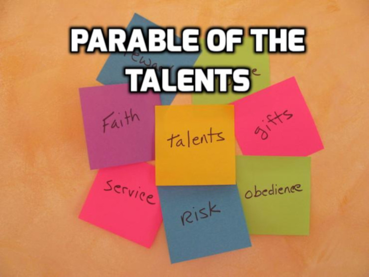 Parable of the Talents  | WednesdayintheWord.com