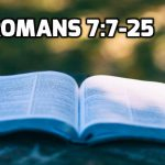 10 Romans 7:7-25 Law and Sin