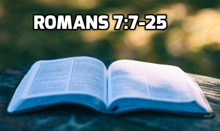 Romans 7:7-25 | WednesdayintheWord.com