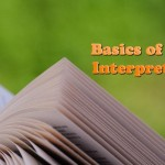 Basics of Bible Interpretation