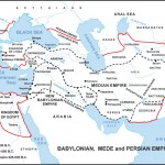 Babylonian Empire Map | WednesdayintheWord.com