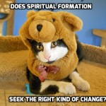 Does Spiritual Formation seek the right kind of change?