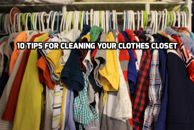 10 Tips for cleaning your closet | WednesdayintheWord.com