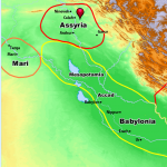 Bible Atlas: Assyria |WednesdayintheWord.com