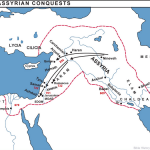 Map of Assyrian Conquests | WednesdayintheWord.com