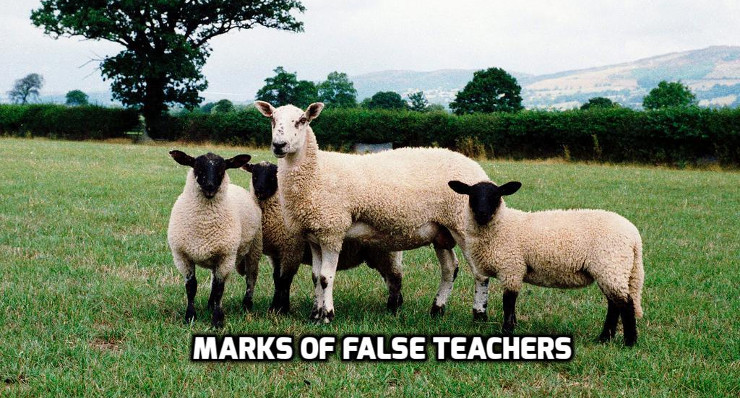 Marks of False Teachers | WednesdayintheWord.com