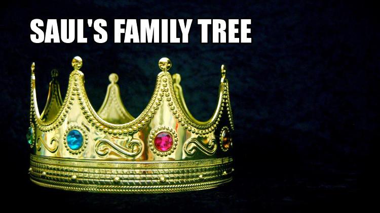 King Saul's Family Tree | WednesdayintheWord.com