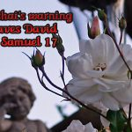 2 Samuel 17 Hushai's Warning Saves David