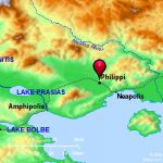 Bible Atlas Philippi | WednesdayintheWord.com