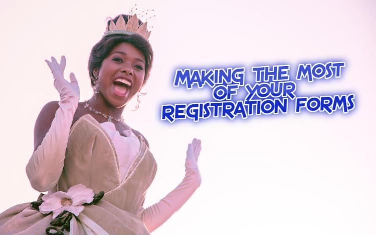 Improving Registration Forms | WednesdayintheWord.com