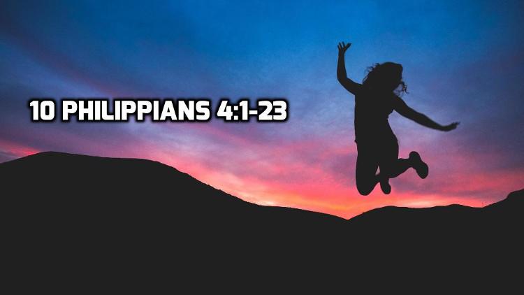 10 Philippians 4:1-23   WednesdayintheWord.com