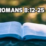 12 Romans 8:12-25 Grief over Sin