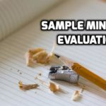 Women's Ministry Evaluation Sample