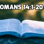 21 Romans 14:1-20 The problem of Christian taboos