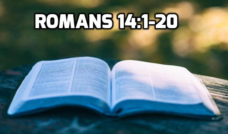 Romans 14:1-20 The Problem of Christian Taboos | WednesdayintheWord.com