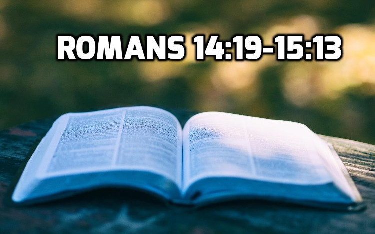 Romans 14:19-15:13 | WednesdayintheWord.com