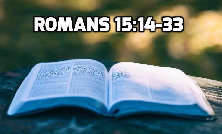 Romans 14:14-33   WednesdayintheWord.com