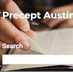 Precepts Austin Greek Word Studies | WednesdayintheWord.com