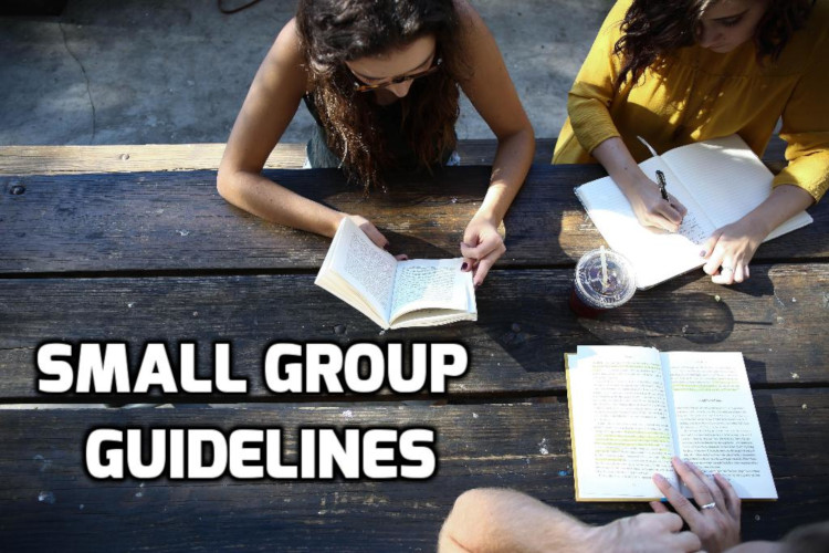Small Group Guidelines | WednesdayintheWord.com