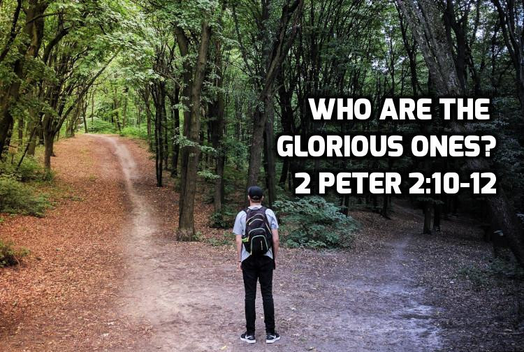Who are the glorious ones? 2 Peter 2:10-12 | WednesdayintheWord.com