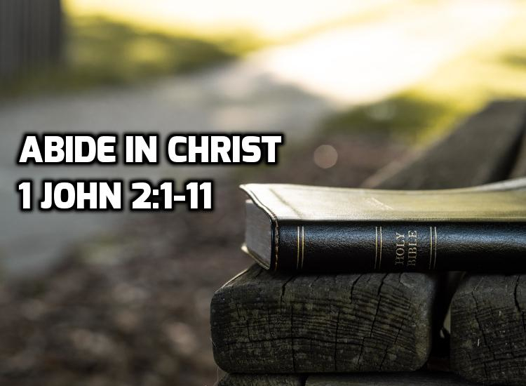 03 1 John 2:1-11: Abide in Christ | WednesdayintheWord.com