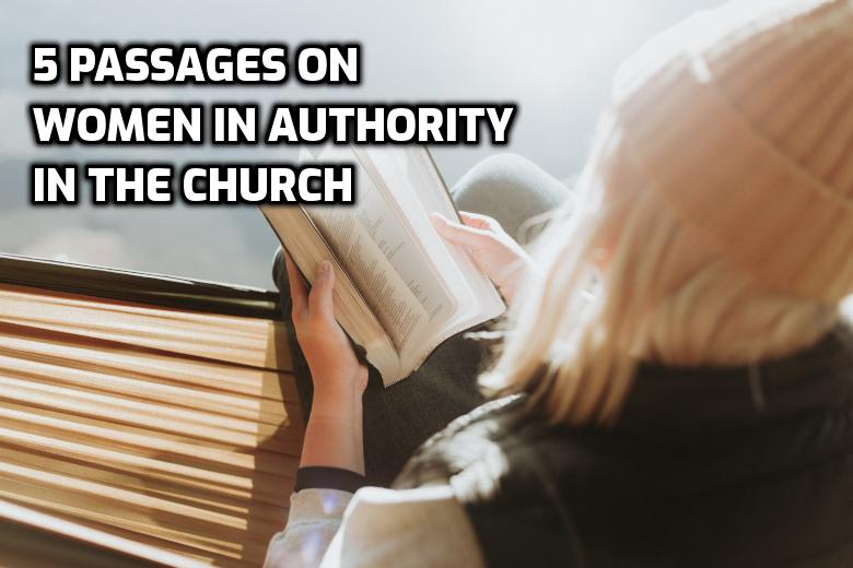 5 passages on women in authority in the church | WednesdayintheWord.com