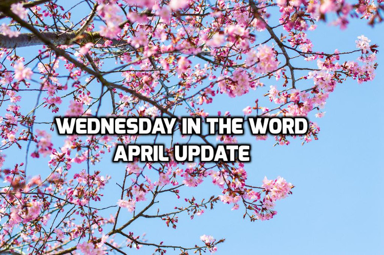 April 2019 Recap | WednesdayintheWord.com