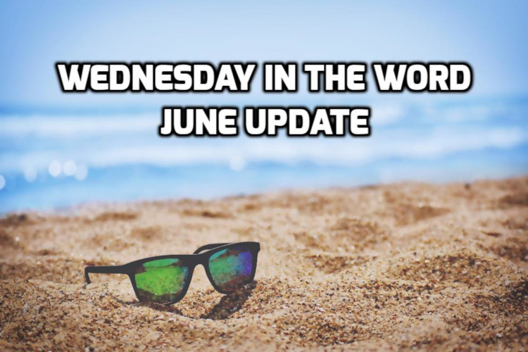 June 2019 Recap | WednesdayintheWord.com