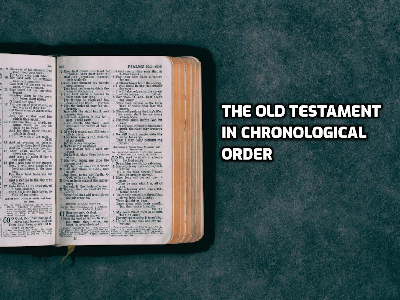 The Old Testament books in Chronological Order | WednesdayintheWord.com