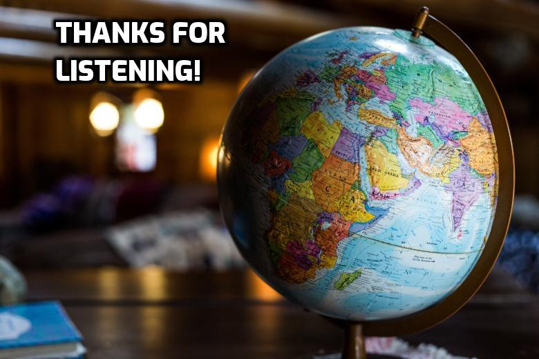Thanks for listening to WitW!