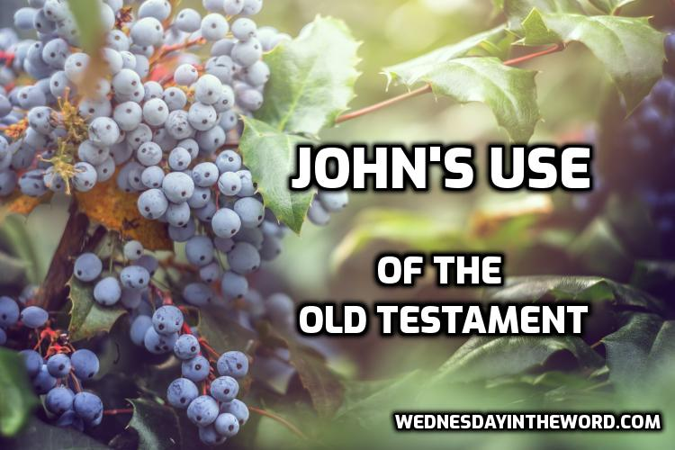 John's use of the Old Testament | WednesdayintheWord.com
