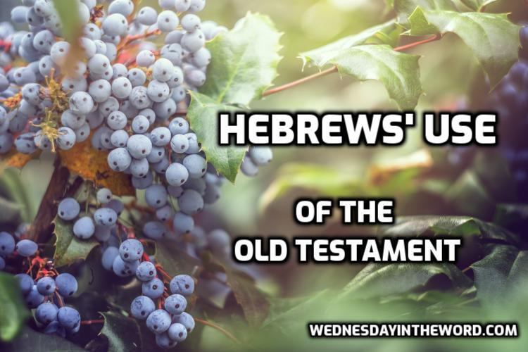 Hebrews' use of the Old Testament | WednesdayintheWord.