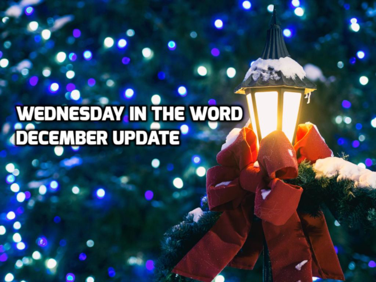 December 2020 Reflections | WednesdayintheWord