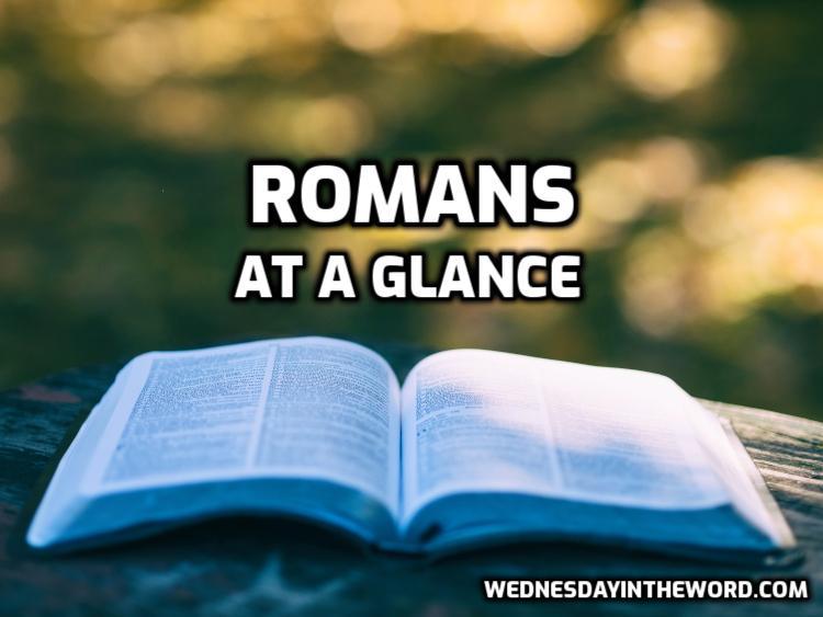 Romans at a glance | WednesdaintheWord.com
