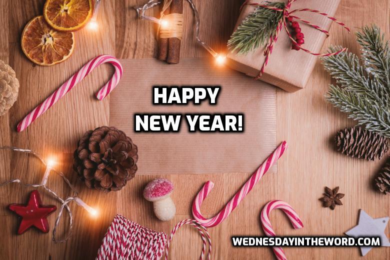 Happy New Year | WednesdayintheWord.com