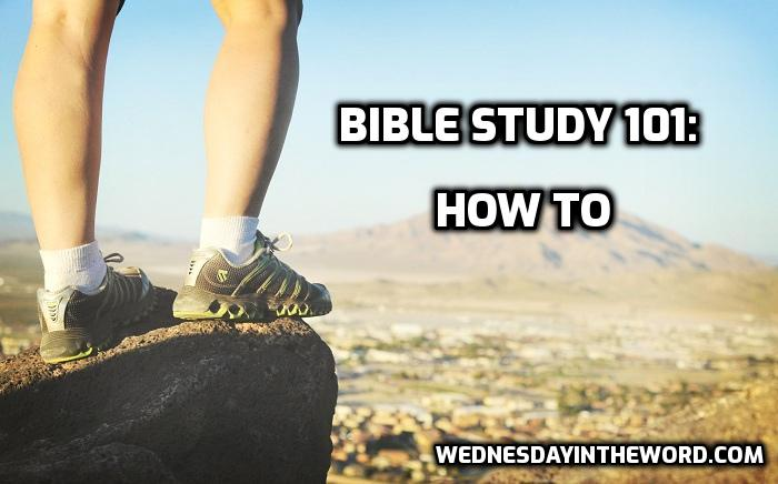 BS101: How to | WednesdayintheWord.com