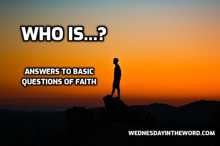Who is? | WednesdayintheWord.com