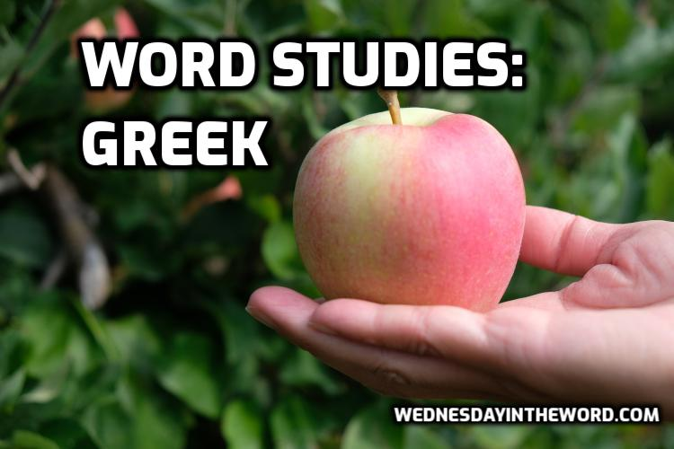 Word Studies: Greek - Bible Study Tools | WednesdayintheWord.com
